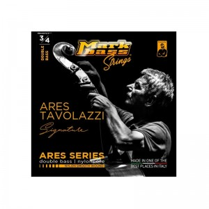 MARKBASS Ares Series MB4ASNY3/4 CORDE PER CONTRABBASSO 3/4 IN ARGENTO