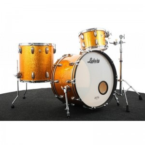 Ludwig Classic Maple Fab 22-13-16 Gold Sparkle B-Stock