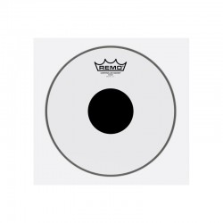 Remo CS-0311-10 Controlled Sound Top Black Dot Clear 11
