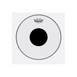 Remo CS-0314-10 Controlled Sound Top Black Dot Clear 14