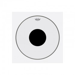 Remo CS-1320-10 Controlled Sound Top Black Dot Clear Bass 20