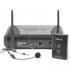 Vonyx STWM711H MICROFONICO WIRELESS AD ARCHETTO