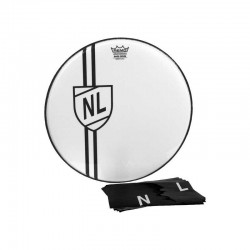 Remo Graphic 22' Vint. Shield DECAL