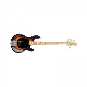 Sterling by Music Man Stingray Ray4 4 Vintage Sunburst Satin