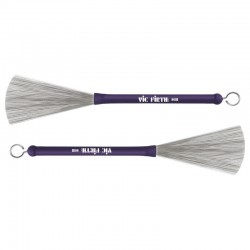 Vic Firth AB-HB Heritage Brush spazzole in metallo