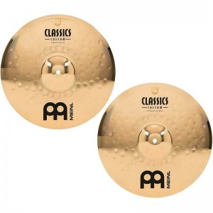 MEINL CC14MH-B Classics Custom Medium Hi Hat 14