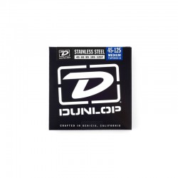 Dunlop DBS45125T Stainless Steel Tapered Set/5 45-125 Muta Basso