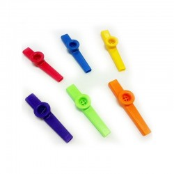 Kazoo in plastica colori assortiti