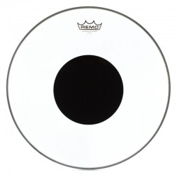 Remo CS-0316-10 Controlled Sound Top Black Dot Clear 16