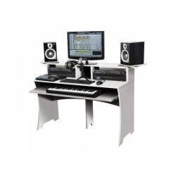 Glorius Workbench White Workstation per Home Recording e Studio Bianca