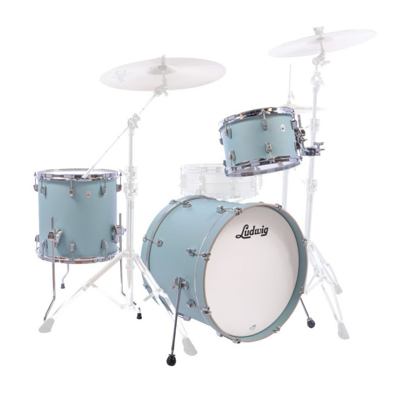 Ludwig NEUSONIC 3 PZ L24023TX3R SKYLINE BLUE SHOWN