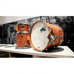 DS Drum Rebel Custom Shop All Maple shells - Old Whisky WBS finish