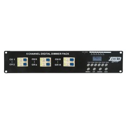 Dimmer elettronico 6 canali DP 615 III