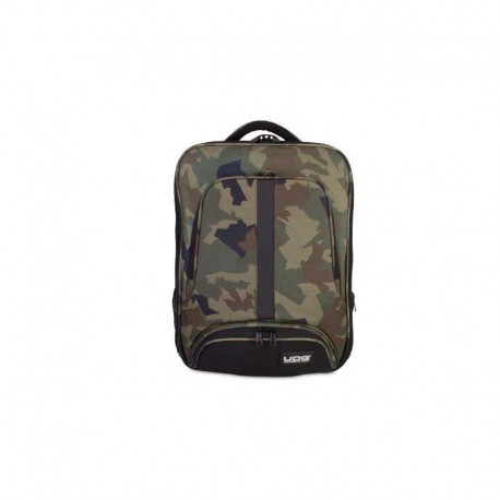 UDG U9108BC/OR - ULTIMATE BACKPACK SLIM BLACK CAMO, ORANGE INSIDE