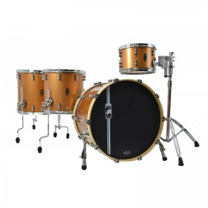 MAPEX IT BPDLC528XEW BATTERIA BP DESIGN LAB CHERRY BOMB 4 PEZZI TRANSPARENT COPPER